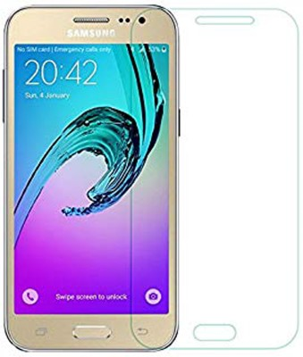 stylist sky Tempered Glass Guard for Samsung Galaxy J2 - 2015(Pack of 1)