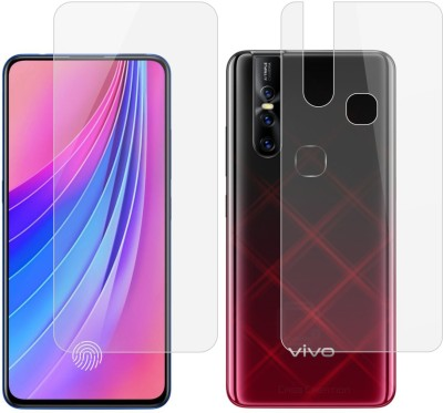 Case Creation Front and Back Screen Guard for Vivo V15 2018(Pack of 2)