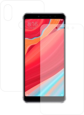 Case Creation Front and Back Screen Guard for Mi Redmi Y2(Pack of 2)