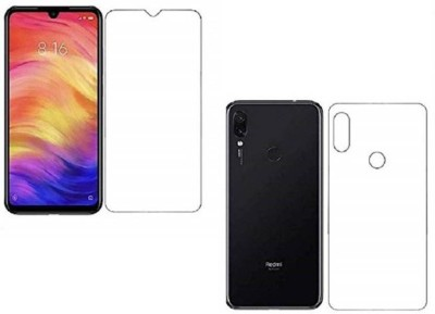 Fashion Way Front and Back Screen Guard for Mi Redmi Note 7, Mi Redmi Note 7 Pro, Mi Redmi Note 7S(Pack of 2)