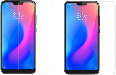 S-Gripline Tempered Glass Guard for Redmi 6 pro (1)(Pack of 2)