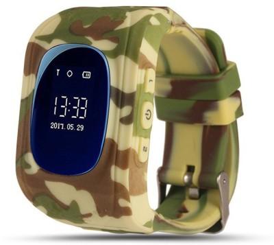 SeTracker Smart Watch for Kids- Military Color Smartwatch(Multicolor Strap S)