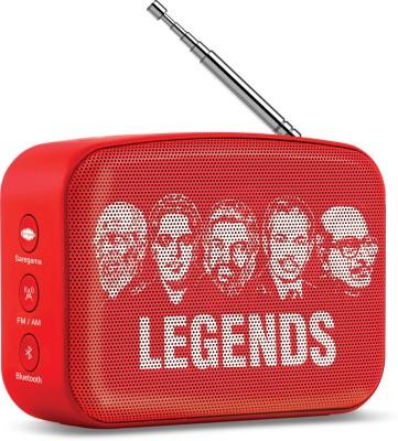 Saregama Carvaan Mini Malayalam 5 W Bluetooth Speaker(Sunset Red, Stereo Channel)