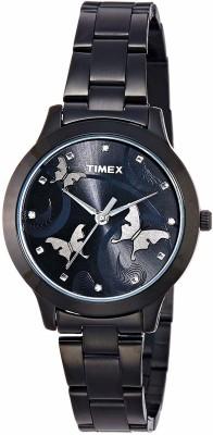 Timex TW000T609 Analog Black Dial Women's Watch (TW000T609)