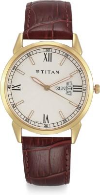 On Analog Men's Classique Watch Titan Silver Dial 1Off LVGzMpSqU