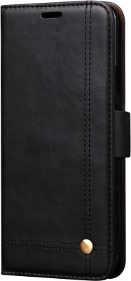 Heavy Duty Book Cover for Samsung Galaxy Note 8(Black, Holster)