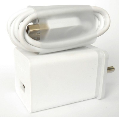 OPPO Wall Charger Accessory Combo for All Mobile Phones(White)