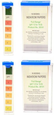 Mansi Chemicals 10141 Indicator Papers Pack of 2 Ph Test Strip(1 - 14)