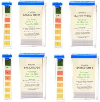 Mansi Chemicals 10144 Indicator Papers Pack of 4 Ph Test Strip(1 - 14)