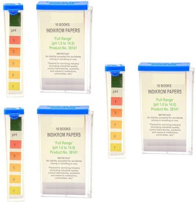 Mansi Chemicals 10143 Indicator Papers Pack of 3 Ph Test Strip(1 - 14)