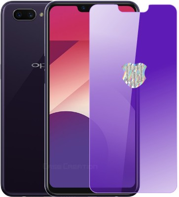 Case Creation Edge To Edge Tempered Glass for OPPO A5, Oppo A3s, Realme 2, Realme C1(Pack of 1)