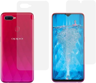 Case Creation Front and Back Screen Guard for Oppo F9, OPPO F9 Pro, Realme 2 Pro, Realme U1, Realme 3 Pro(Pack of 2)