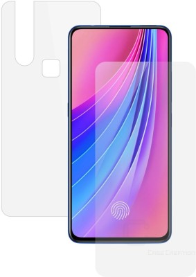 Case Creation Front and Back Screen Guard for Vivo (V15)(Pack of 2)