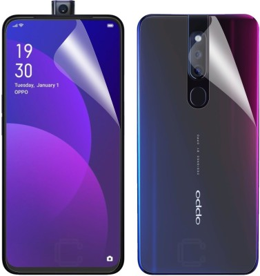 Case Creation Front and Back Screen Guard for Oppo F11 2019(Pack of 2)
