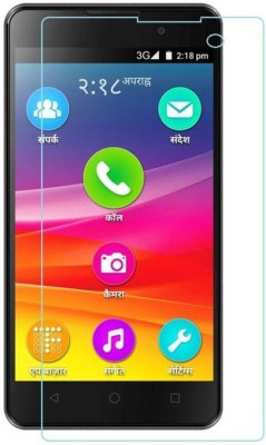 Macron Tempered Glass Guard for MICROMAX CANVAS 1(Pack of 1)