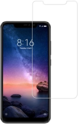 BigChoice Tempered Glass Guard for Mi Redmi Note 6 Pro(Pack of 1)