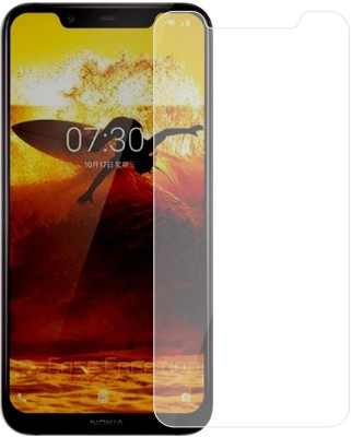 Case Creation Tempered Glass Guard for Nokia 8.1(Pack of 1)