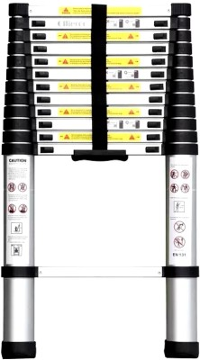 Smarty Telescopic ladder Aluminium Ladder(Hand Rail)