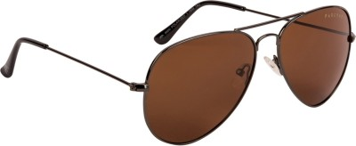 Farenheit Aviator Sunglasses(Brown)