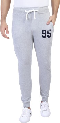 TRINITY JEANS COMPANY Self Design Men Grey Track Pants