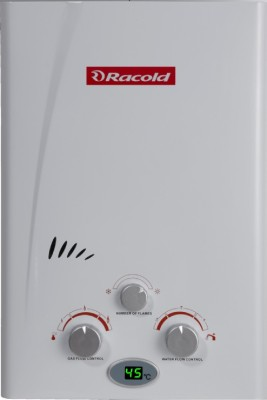 Racold 5 L Gas Water Geyser (LPG, White)