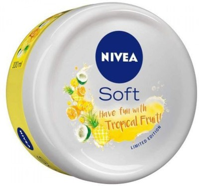 Nivea Soft Tropical Fruit 100 ml Hair Cream(100 ml)