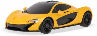 Toyshine 1:24 Offically licenced McLaren P1 Remote Control Car, with Lights, Yellow(Yellow)
