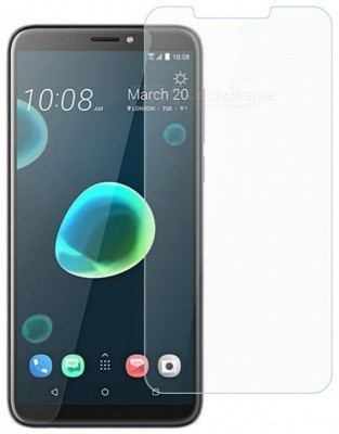 Macron Edge To Edge Tempered Glass for Htc Desire 12 Plus UV Protection(Pack of 1)