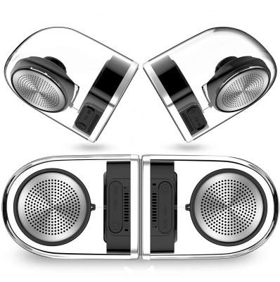 CrossBeats Crossbeats Dynamite 5 W Bluetooth Speaker(Silver, White, Black, 2.0 Channel)