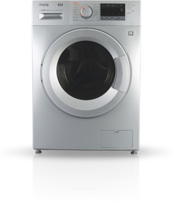 MarQ by Flipkart 10.2/7 kg Fully Automatic Front Load Washer with Dryer with In-built Heater Silver(MQFLDGD10) (MarQ by Flipkart)  Buy Online