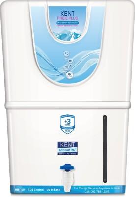 KENT Pride Plus (11067) 8 L RO + UV + UF + TDS Water Purifier(White)
