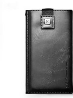 Realtech Pouch for Motorola Moto E3 Power(Black, Dual Protection)