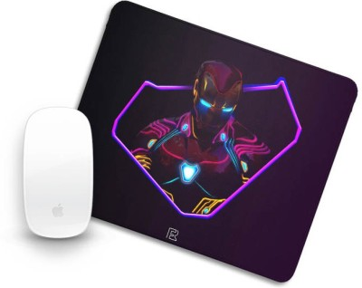 Fandom Realm Neon Iron man -2 Mouse Pad Mousepad(Multicolor)