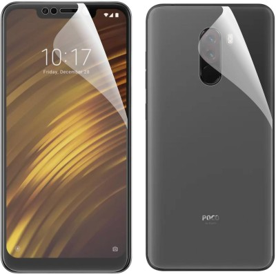 Case Creation Front and Back Screen Guard for POCO F1(Pack of 2)