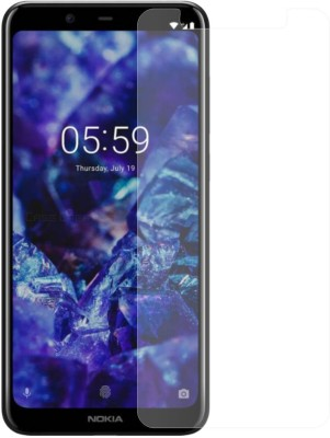 Case Creation Edge To Edge Tempered Glass for New Nokia 3.1 Plus(Pack of 1)