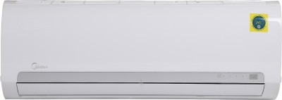 Midea 1 Ton 3 Star Split AC - White(12K 3 STAR SANTIS PRO CLS R32(MF001)/FIXED SPEED R32 ODU(MF001), Copper Condenser)