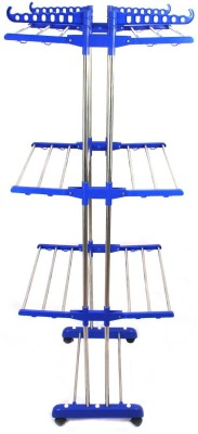 HOMEMATE Steel Floor Cloth Dryer Stand NB200020(3 Tier)