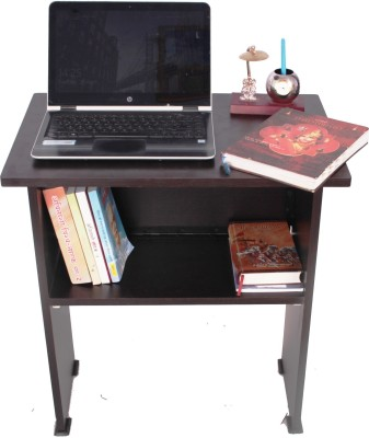 Ebee Engineered Wood Computer Desk(Modular, Finish Color - Brown)