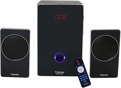 T-Series M151BT 2.1 Bluetooth Multimedia Speaker System Black 36 W Bluetooth Home Theatre(Black, 2.1 Channel)