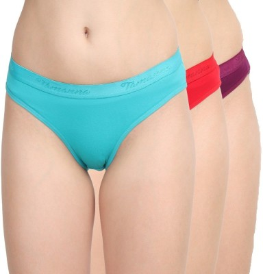 Nohunt Women Hipster Multicolor Panty(Pack of 3)