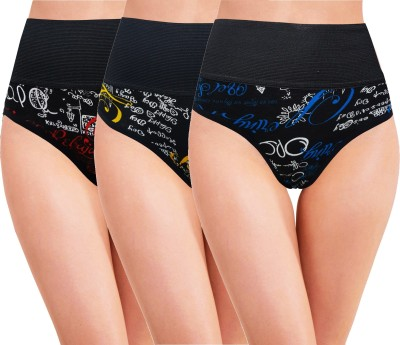 RC. ROYAL CLASS Women Hipster Multicolor Panty(Pack of 3)
