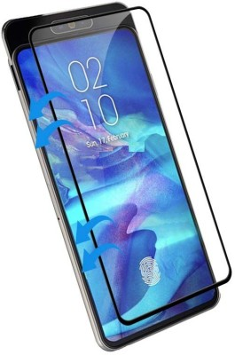 RR Design Edge To Edge Tempered Glass for Samsung Galaxy M10(Pack of 1)