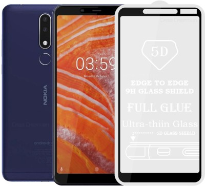 Case Creation Tempered Glass Guard for New Nokia 3.1 Plus (2018)(Pack of 1)