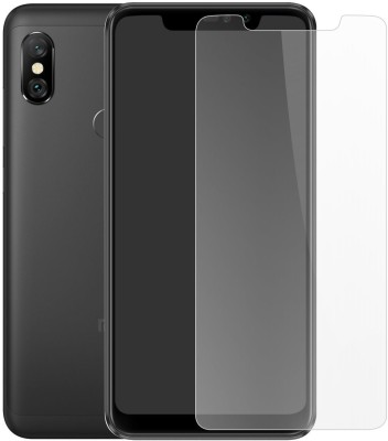 Case Creation Tempered Glass Guard for Mi Redmi Note 6 Pro(Pack of 1)