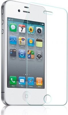 MudShi Tempered Glass Guard for Apple iPhone 4s(Pack of 1)