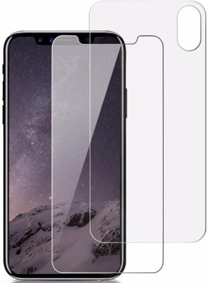 Case Creation Front and Back Screen Guard for New Apple Iphone XS(Pack of 2)
