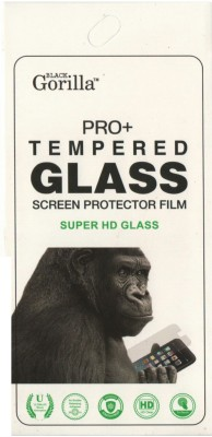BLACK GORILLA Tempered Glass Guard for Gionee Pioneer P2S(Pack of 1)