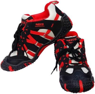 Pasco Action Jackpot Running Shoes For Men(Black)