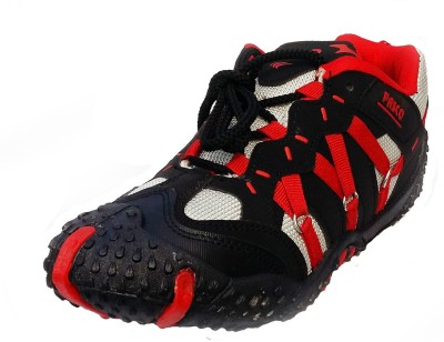 Pasco Action Jackpot Running Shoes For Men(Red)