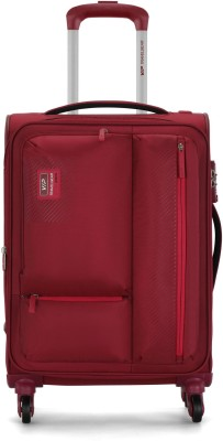 VIP Stax 4W Exp Strolly Expandable  Cabin Luggage - 22 inch(Red)